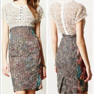 Anthropologie Beguile Byron Lars Lace Study Dress